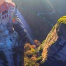 Fly over Meteora